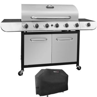 Royal Gourmet Classic 6-Burner Cabinet Gas Grill