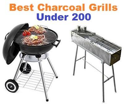 Top 15 Best Charcoal Grills under 200 in 2018