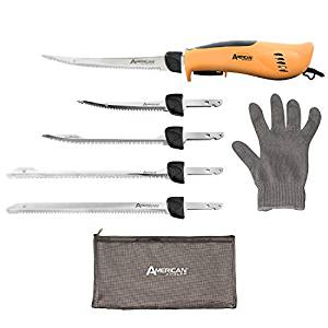 American Angler PRO Professional Grade Electric Fillet Knife - 32352DS