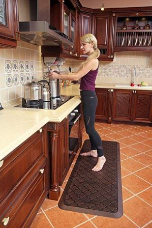 Butterfly Long Kitchen Anti-Fatigue Mat