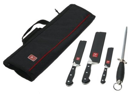 Wusthof Classic 5-Piece Professional Chef's Knife Kit