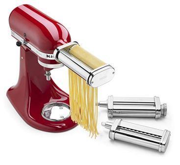 KitchenAid KSMPRA Pasta Roller & Cutter Attachment Set