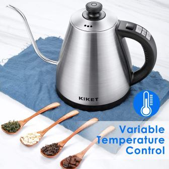 Electric Kettle Temperature Control Gooseneck Kettle Electric with LED Display