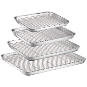 Fungun Baking Sheet with Cooling Rack