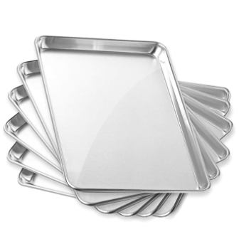 GRIDMANN 13″ x 18″ Commercial Grade Aluminum Cookie Sheet