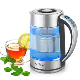Pyle Digital Hot Water Glass Kettle