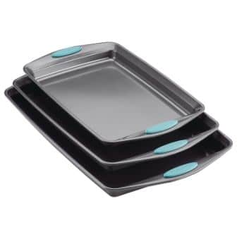Rachael Ray 47576 3-Piece Cookie Sheet