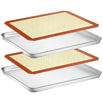 Wildone Baking Sheet with Silicone Mat