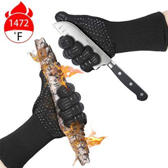 AMAZING VENTURES BBQ Grill Gloves