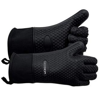 Geekhom Leather BBQ Gloves