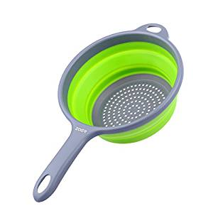 ZOER Kitchen Foldable Silicone Strainers