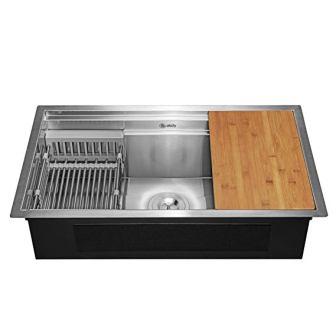AKDY Deluxe Stainless Steel Undermount Kitchen Sink