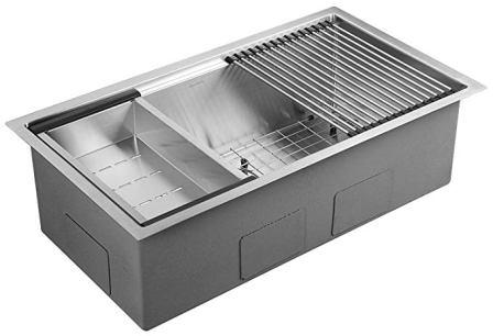 AguaStella Stainless Steel Undermount Single Bowl Kitchen Sink