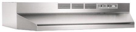 Broan-NuTone 413004 Range Hood, 30-Inch, Stainless Steel