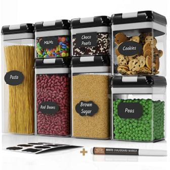Chef's Path Airtight Food Storage Container Set