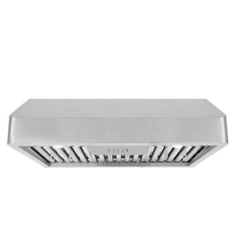 Cosmo QB75 30 in Under-Cabinet Range Hood 900-CFM | Ducted/Ductless Convertible Duct