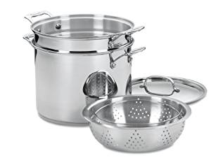 Cuisinart Chef's Classic Stainless Pasta Set