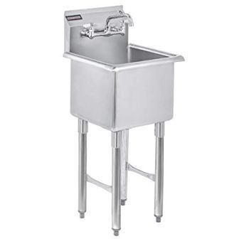 DuraSteel Stainless Steel Prep & Utility Sink