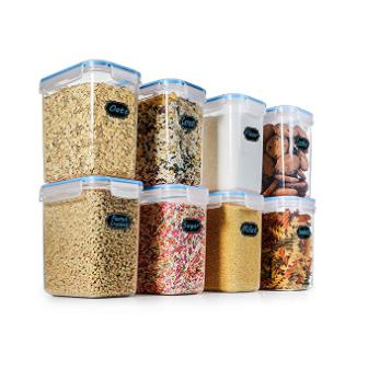 Estmoon Large Airtight Food Storage Containers