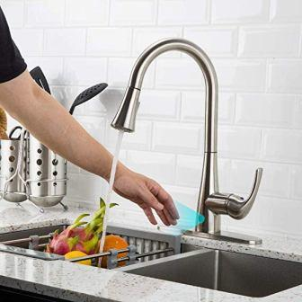 FORIOUS Assistive Touch Kitchen Faucet