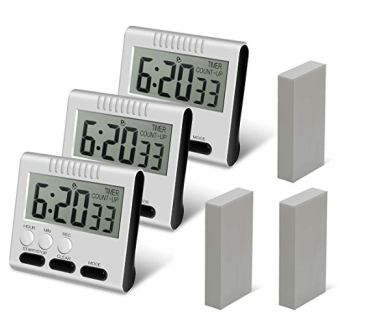 Hour Minute Second Count Up Kitchen Timer by Femst