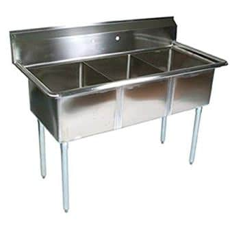 John Boos E Series Stainless Steel Sink