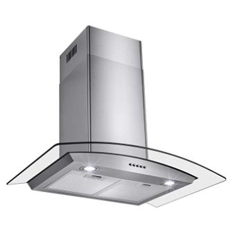 Perfetto Kitchen and Bath Convertible Wall Mount Range Hood