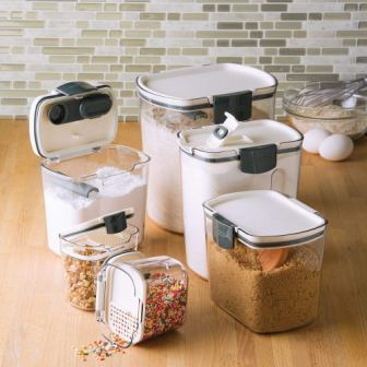 Prepworks by Progressive 6-piece Prokeeper Set of Food Storage Containers (Top Pick)