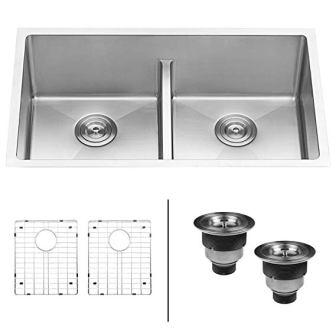 Ruvati Double Bowl Undermount Kitchen Sink