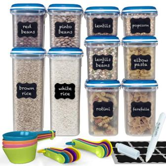 Shazo Food Storage Containers 20-Piece Set