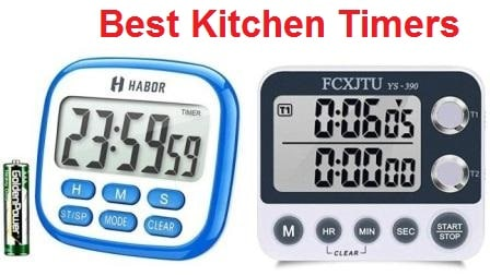 Top 15 Best Kitchen Timers in 2020 - Ultimate Guide