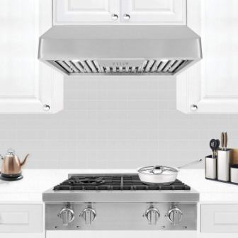 Enjoyable Top 15 Best Under Cabinet Range Hoods In 2019 Beutiful Home Inspiration Truamahrainfo