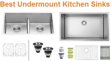 Top 15 Best Undermount Kitchen Sinks in 2019