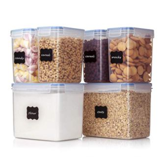 Vtopmart Airtight Food Storage Containers 6 Pieces
