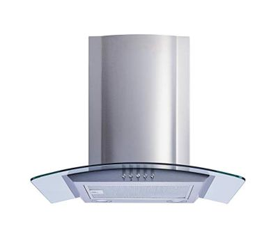Winflo Convertible Stainless-Steel Wall Mount Range Hood