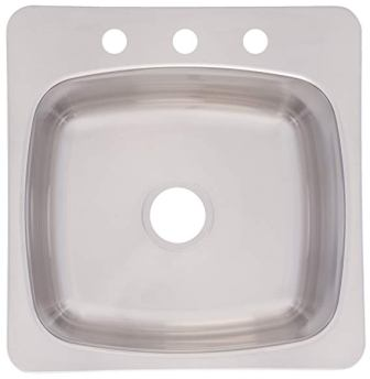 Franke Axis Top Mount Single Bowl Kitchen Sink