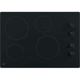"""GE JP3030DJBB 30"""" Electric Cooktop"""