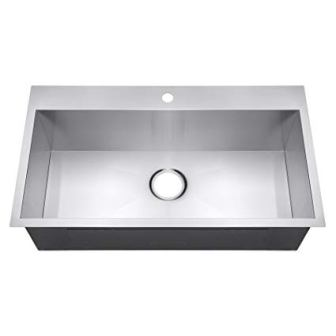 Golden Vantage Top Mount Handmade Stainless Steel Kitchen Sink
