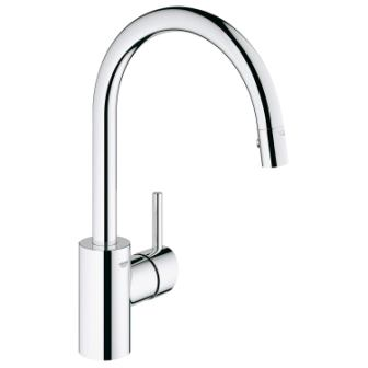 Grohe 32665001 Concetto Single-Handle Pull-Down Kitchen Faucet