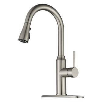 Kitchen Faucet Pull-down Arofa A01LY Commercial Modern Kitchen Sink faucet