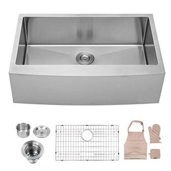 LORDEAR SLJ16003 Commercial Drop-in Undermount Kitchen Sink