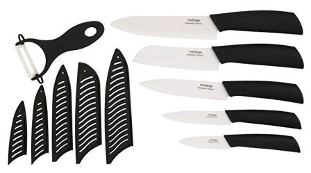 Melange 11-Piece Ceramic Knife Set