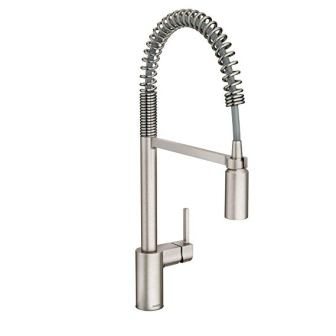 Moen 5923SRS Align One-Handle Spring Pulldown Kitchen Faucet