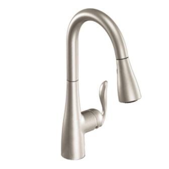 Moen 7594SRS Arbor One-Handle Pulldown Kitchen Faucet