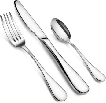 Artaste 59380 Rain Stainless Steel Flatware Set