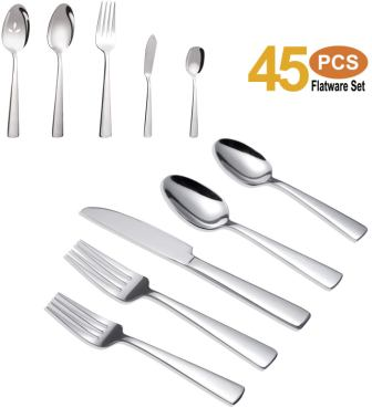 Brightown Stainless Steel Flatware Set