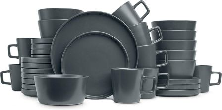 Coupe Dinnerware Set-Stone Lain