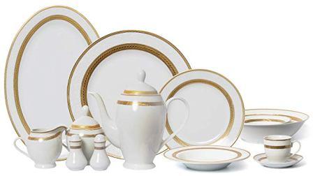 Euro Porcelain Banquet Dinnerware Set