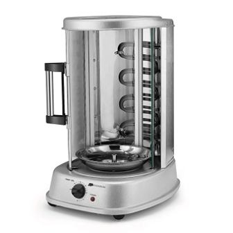 Flexzion Rotisserie Toaster Oven Grill