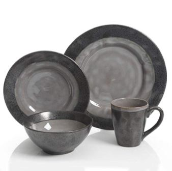 Gibson Dragonstone 16 pc Dinnerware Set